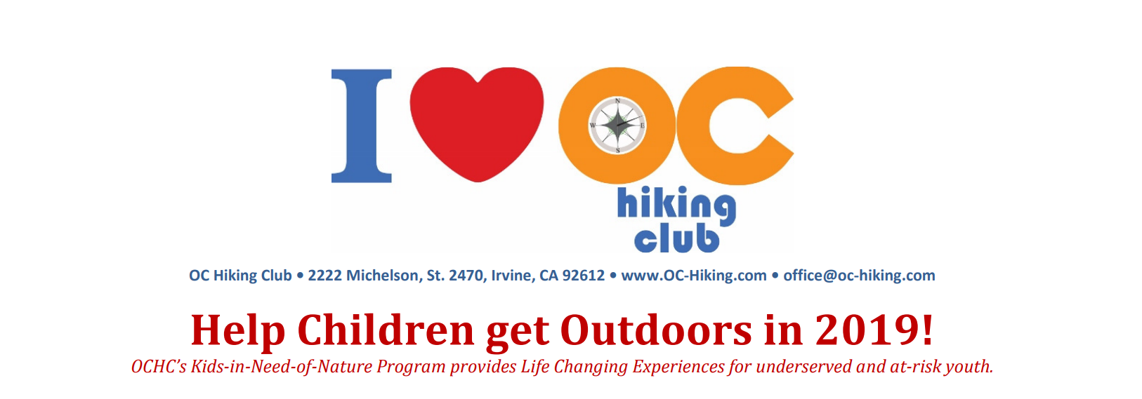 Help to Get More Children Outdoors in 2019